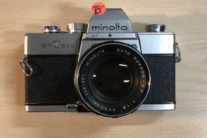 Minolta SRT200 Auto Rokkor 55mm 1.8 for Sale in Vista, CA