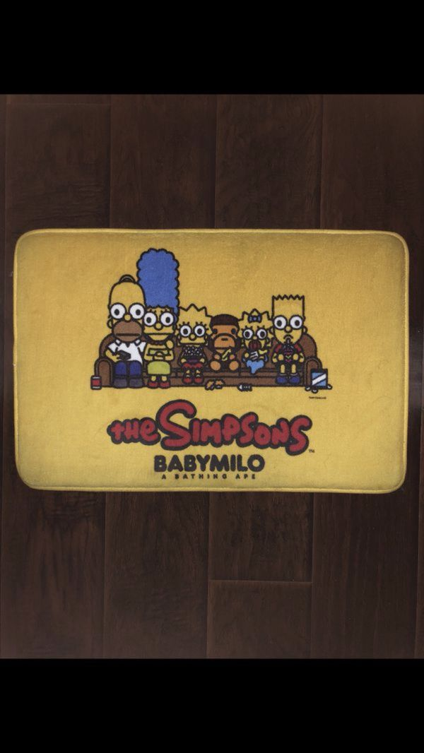 0db234748969 Bape Milo x The Simpson Rug for Sale in Los Angeles