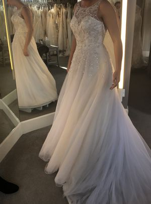 Justin Alexander Wedding Dress Size 10 for Sale in Denver, CO