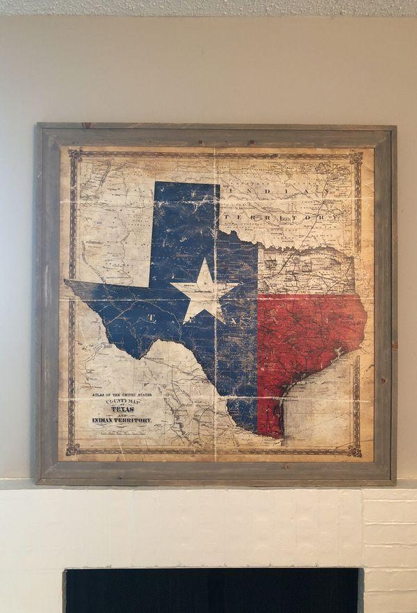 Texas frame (Home & Garden) in Arlington, TX - OfferUp