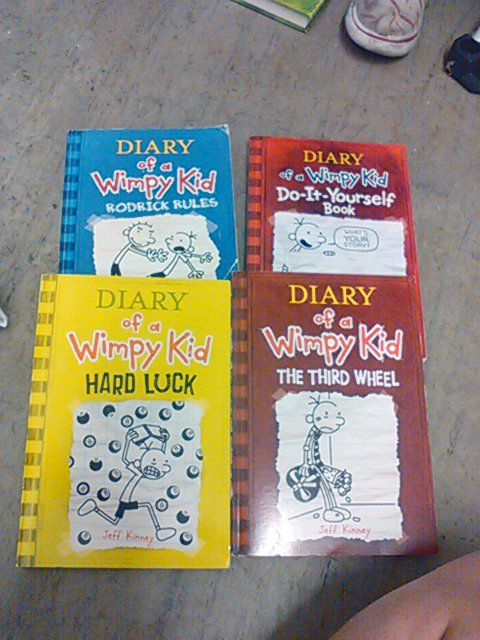 4 paperback diary of a wimpy kid books for sale in cypress ca offerup solutioingenieria Gallery