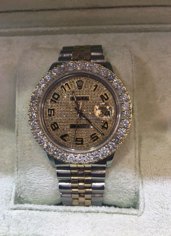 5ctw Diamond Rolex For Sale In Anderson Sc Offerup