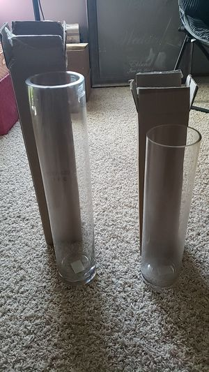 Photo 16 and 20 inch vases