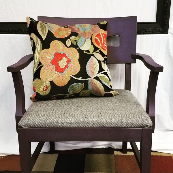 Strange Purple Accent Chair For Sale In Quincy Il Offerup Machost Co Dining Chair Design Ideas Machostcouk