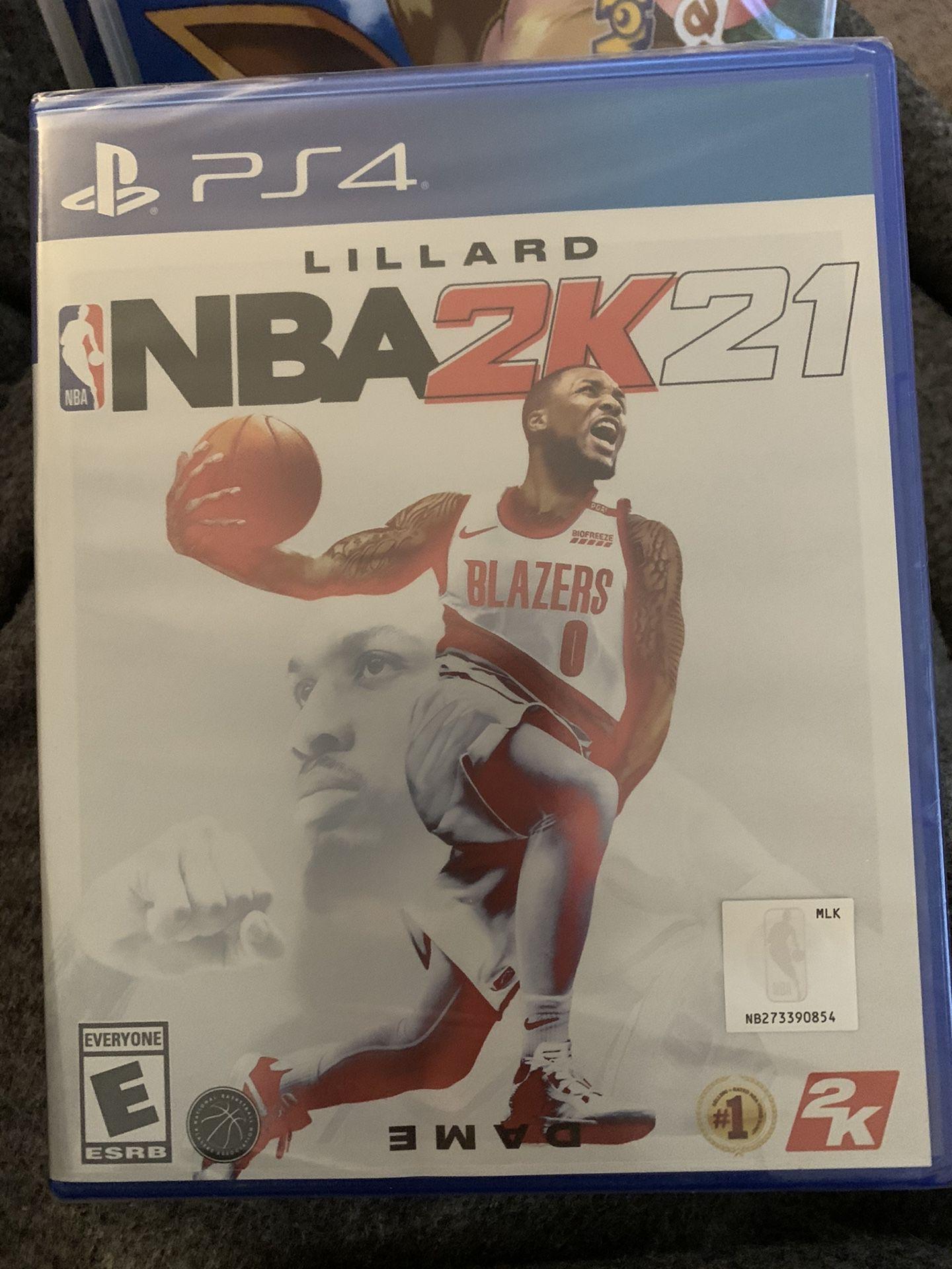 PS4 NBA 2K 21 Game