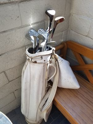 Spalding Executive Focal Powered club set, #2-10, putter for Sale in Santa Monica, CA