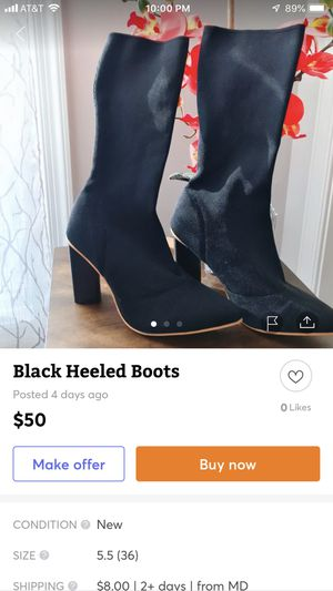 super sexy and stylish boots for Sale in Sykesville, MD