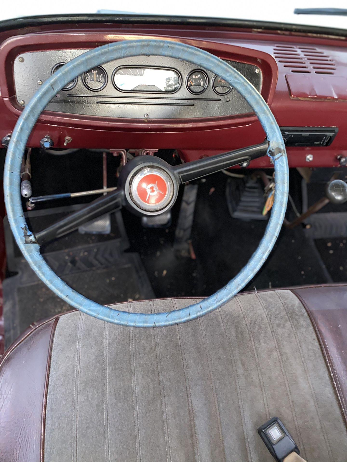 1963 Dodge D200