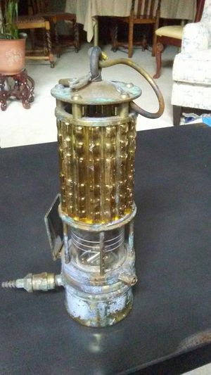 Antique miners lamp for Sale in Blakeslee, PA