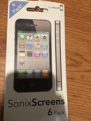 SonixScreens 6 Pack - iPhone 4 for Sale in Arlington, VA