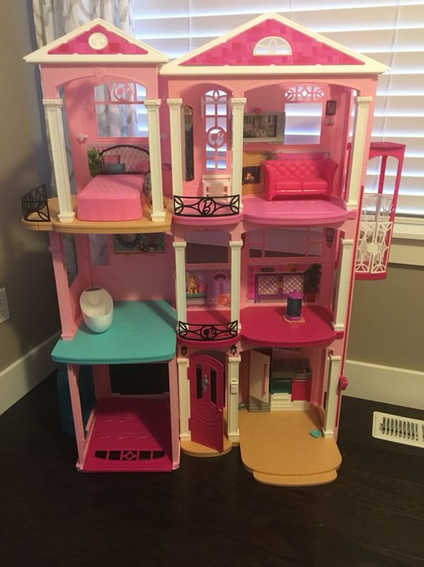 Barbie Doll Dream House 2017 For Sale In Sumner Wa Offerup