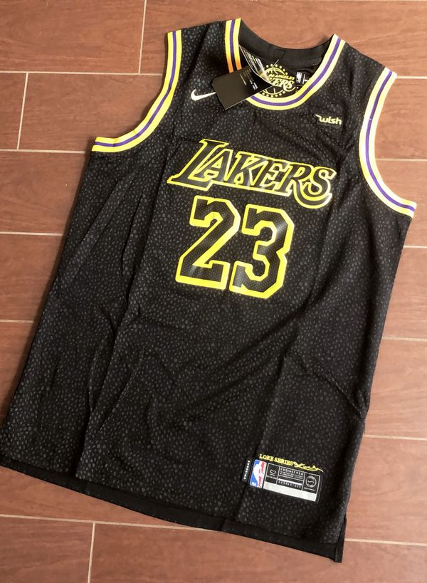 online retailer 701e3 98883 Lakers Lebron James jersey Mamba Edition any size for Sale in Chino, CA -  OfferUp