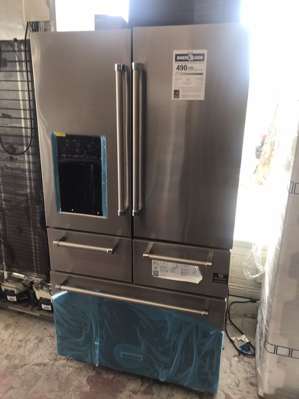 Brand New Open Box Kitchen Aid 5 Door Refrigerator For