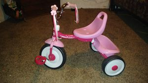 Photo Pink Radio Flyer Tricycle