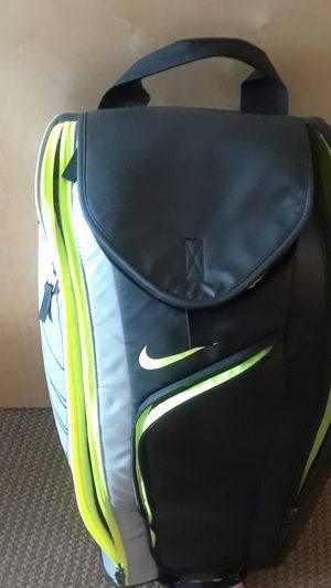 Racket Bag - Nike Tennis Pro Shock Green LE - Racketball- for Sale in Portland, OR