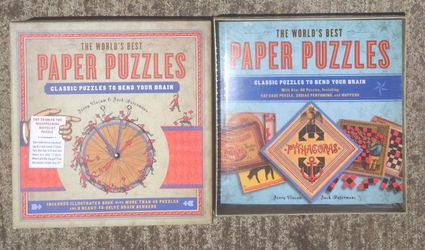 The Worlds Best Paper Puzzles Book Thumbnail