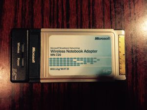 Microsoft Linksys s Wireless Notebook Adapter for Sale in San Francisco, CA