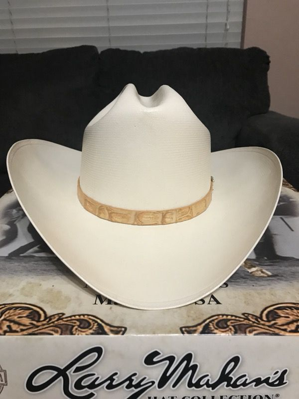 Larry Mahan 500X straw hat for Sale in Rowlett f9c01c8c7a9