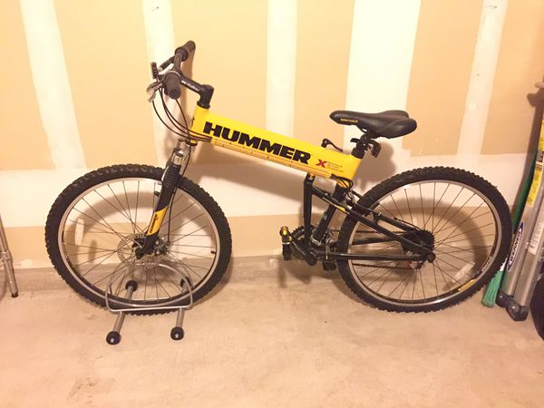 Rare The Original Hummer Folding Bike By Montague For Sale In Austin