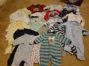 0-3 months boy clothes for Sale in Harpers Ferry, WV