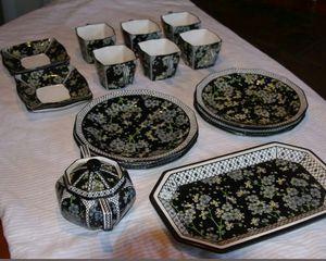 RARE 18 piece Royal Doulton Prunus Pattern China Set for Sale in Woodbridge, VA