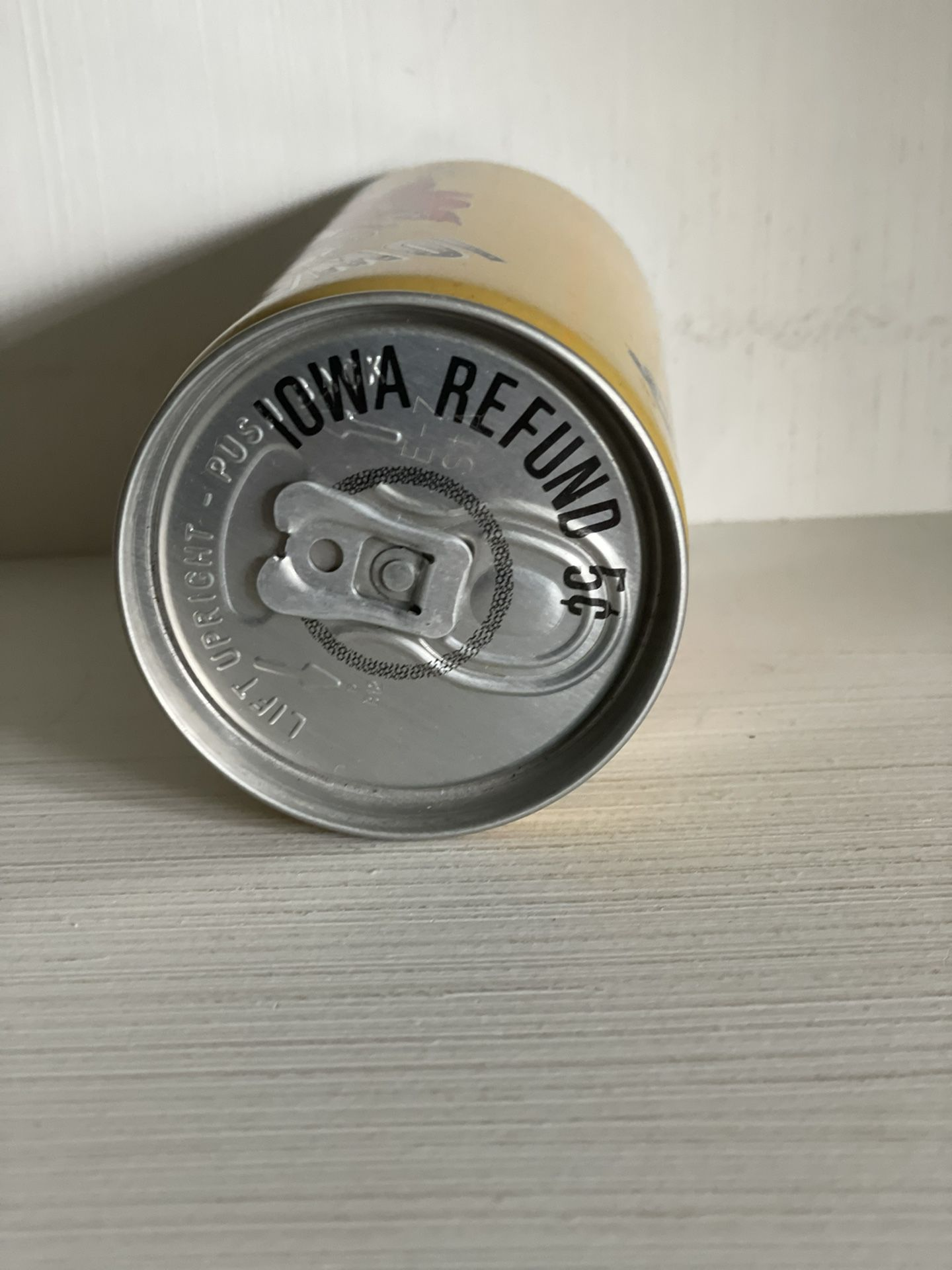 Iowa Sports Collectible (Empty) Can