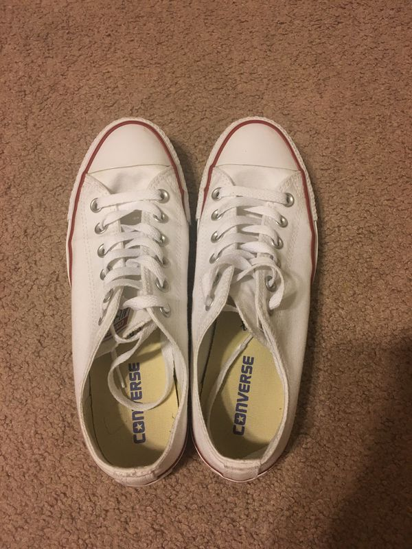 a8a23a8b21f All star white converse for Sale in Hemet