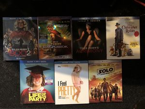 Movies 4K , Blu-ray Combos - Brand New !! for Sale in Houston, TX