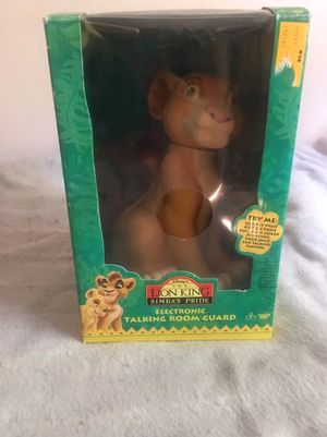 Lion King Talking Room Guard for Sale in Hyattsville, MD