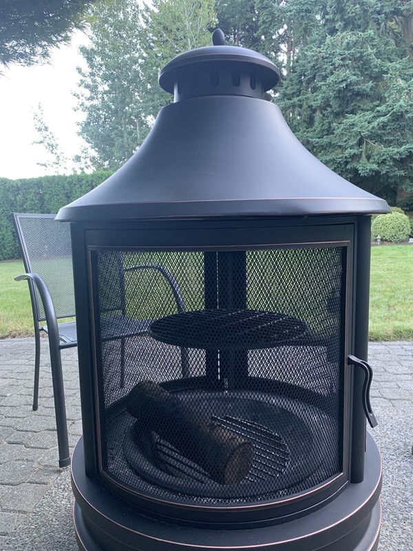 Wood Fireplace Used Only Once For Sale In Federal Way Wa