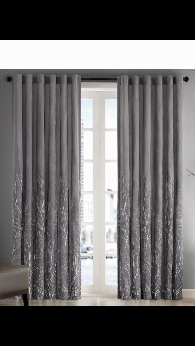 1 Window Panel Curtains