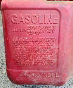 Gas can, 2 gallon capacity Thumbnail