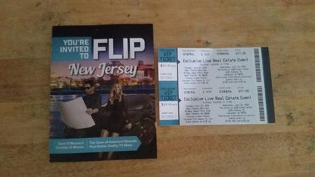 Real estate flip house convention hgtv tickets Thumbnail