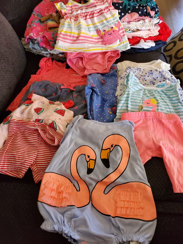 Baby girl clothes Size 0-3 months