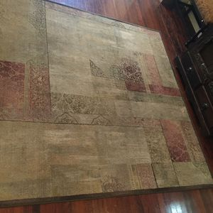 8'X8' Sage and Burgundy Transitional Rug for Sale in Austin, TX