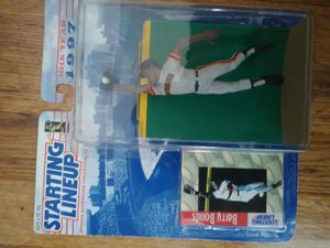 Barry Bonds Action Figure with Card for Sale in Englewood, CO