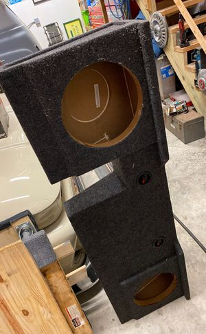 Photo Under seat speaker box for F150