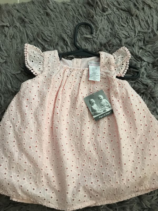 New Piper Posie Dress And Panties 6 9 Mo Baby Kids In Hudson