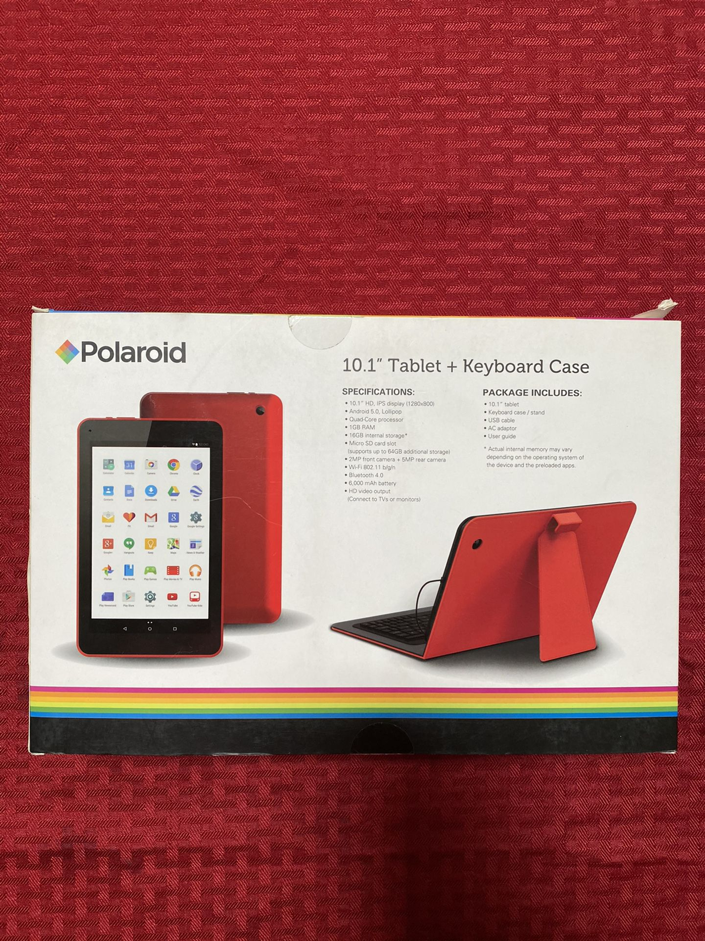 Tablet + keyboard