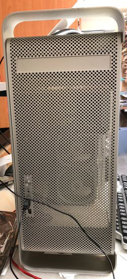 Mac G5 Tower OS X 5.9 Reload 750Gb HD 3Gb Memory Dual CPUs (2 CPUs) See Pics No Questions No Offers No Deals No Shipping No Support Cash & Carry Thumbnail