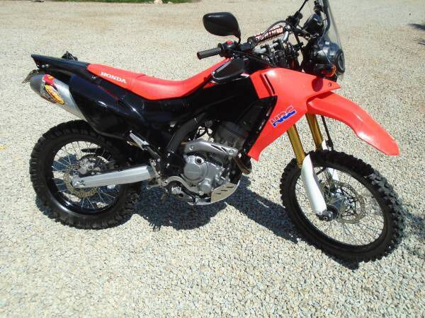 2017 Honda Crf250l Rally Edition Lodaded W Extras 2900 Miles For