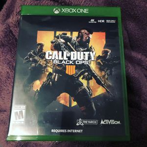 Call of duty black ops 4 for Sale in Seattle, WA