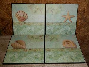 Bathroom Spa Artwork Set for Sale in Shawnee, KS