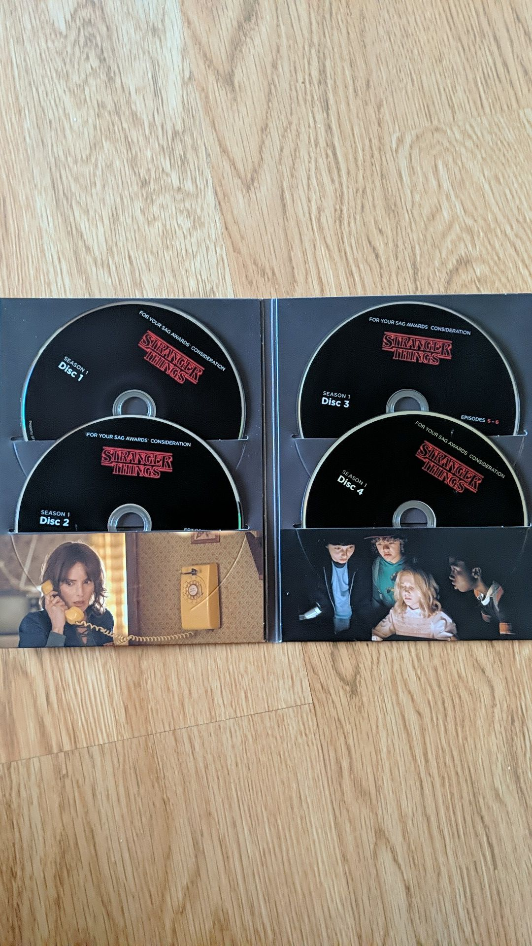 Stranger Things 4-Disc Set Complete First Season