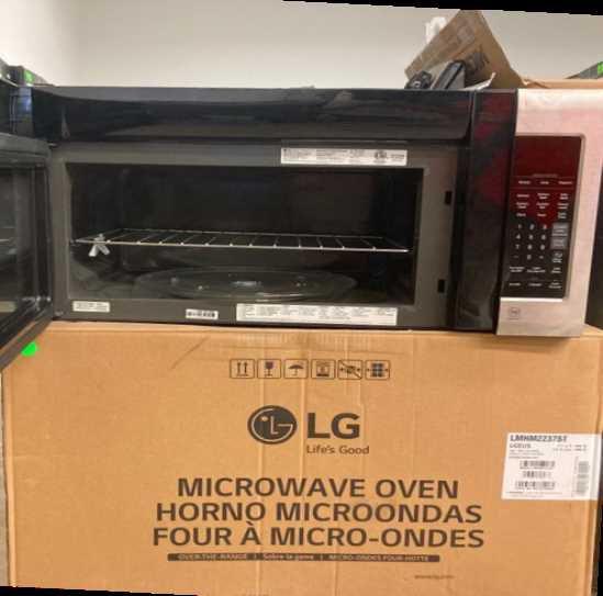 LG 2.0 Cu Microwave LMV2031ST LI5