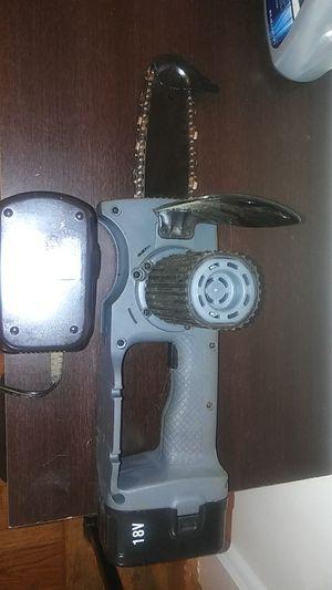 18 volt cords chainsaw for Sale in Fairfax, VA