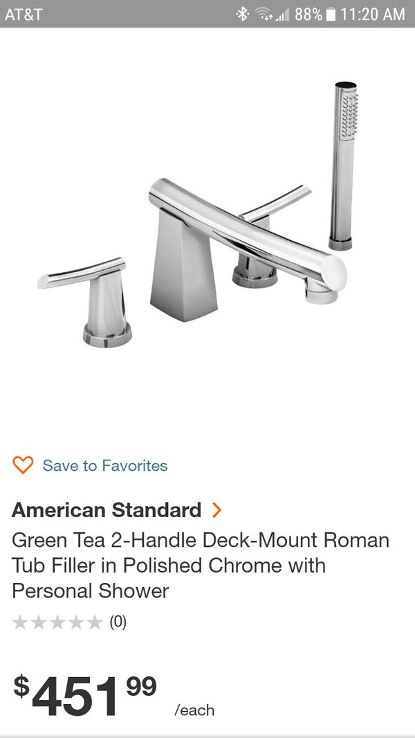 American Standard Green Tea Roman tub filler for Sale in Phoenix, AZ ...