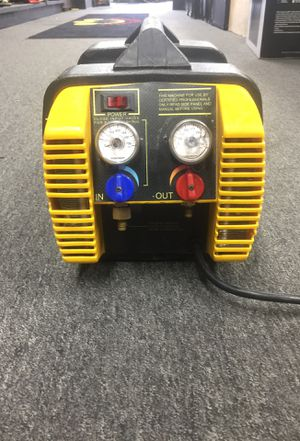 Appion refrigerant recovery machine model #g5 twin h for Sale in Silver Spring, MD