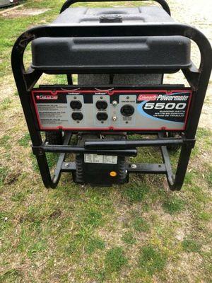 Photo Colman powermate 5500 generator