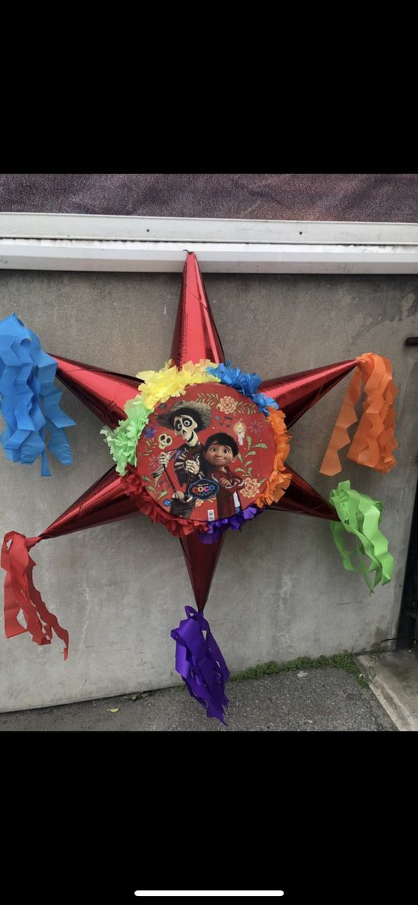 Coco Tambor Style Star Pinata for Sale in Ontario, CA - OfferUp